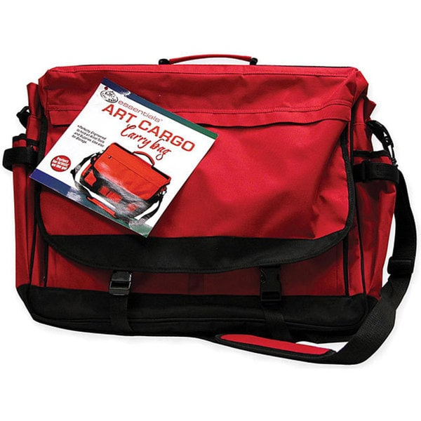 Art cargo red carry bag 12635845 for Arts and crafts tote bags