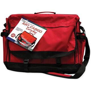 Art Cargo Red Carry Bag