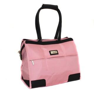 Overland Pink Travel Shoulder Tote Satchel Bag
