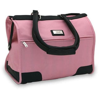 Overland Travelware Long Beach Pink Satchel Bag