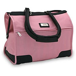 Overland Pink Travel Shoulder Tote Satchel Bag