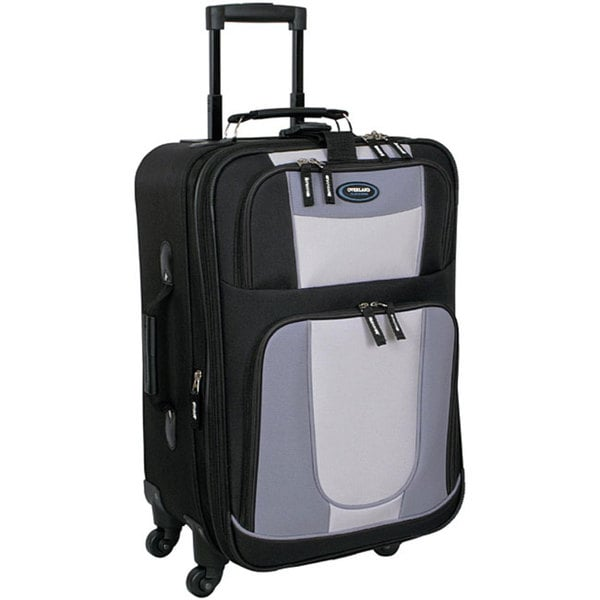 Overland Travelware 20-inch Expandable Spinner Upright