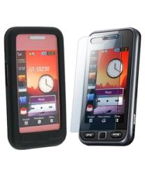 Case and Screen Protector for Samsung S5230C Star