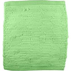 Handmade Green Jersey T-shirt Rug (3'6 x 5'6)