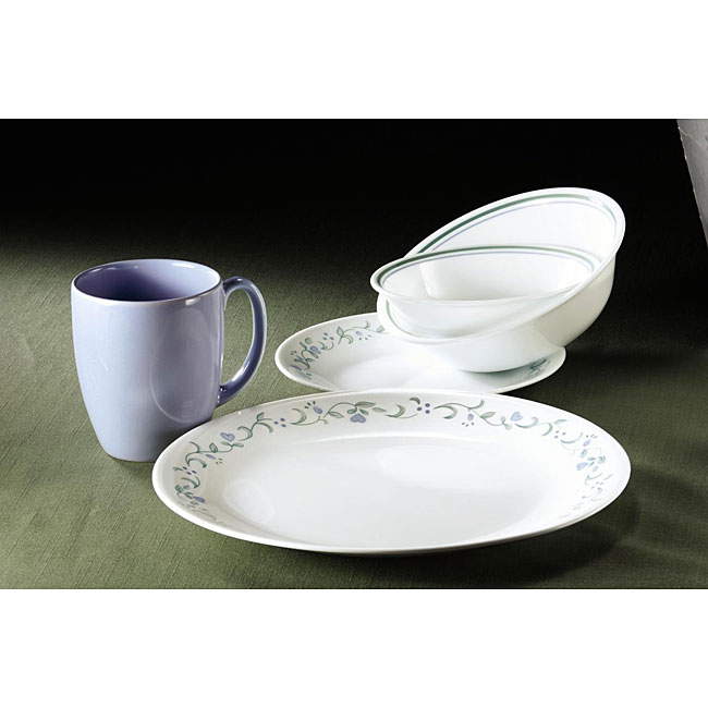 Corelle Country Cottage 30 piece Vitrelle Dinnerware Set  : Corelle Country Cottage 30 piece Vitrelle Dinnerware Set L12636569 from www.overstock.com size 650 x 650 jpeg 36kB