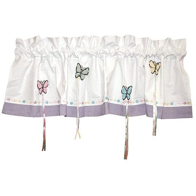 Bedtime Butterfly Window Valance at Sears.com
