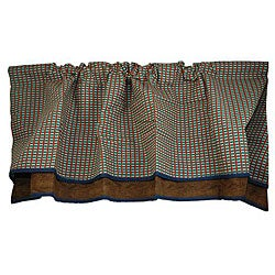 Plaid Window Valance