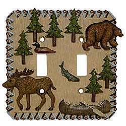 Mountain Retreat Double Switch Plates (Set of 6)