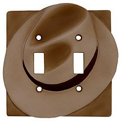 Laredo Double Switch Plates (Set of 6)