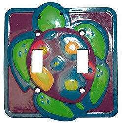 Turtle Time Double Switch Plates (Set of 6)
