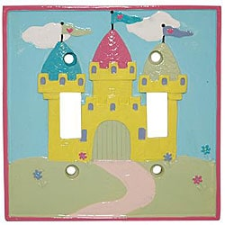 Princess Fairies Double Switch Plates (Set of 6)