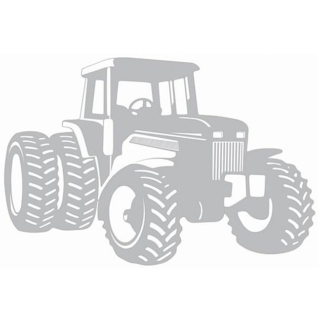 Tractor Sudden Shadows Wall Decal