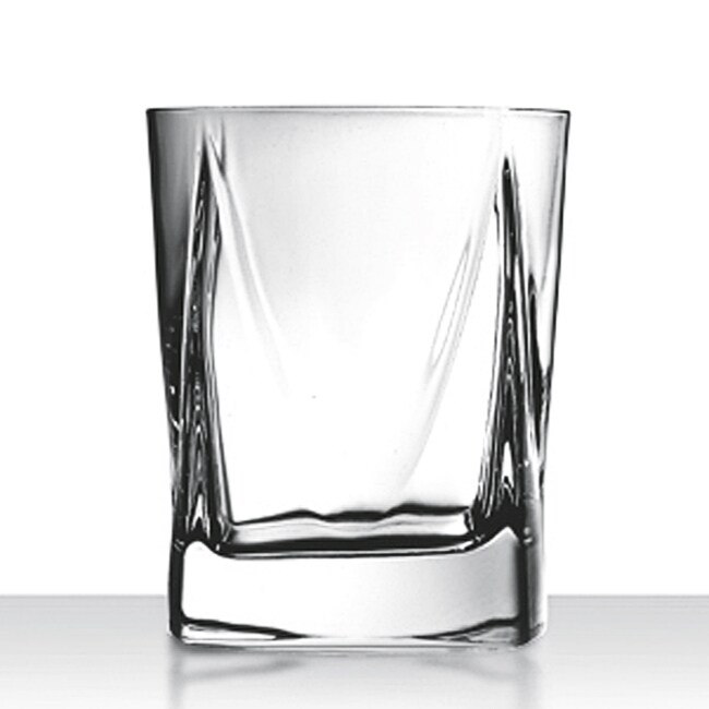 Double Old Fashioned Crystal Glasses Set
