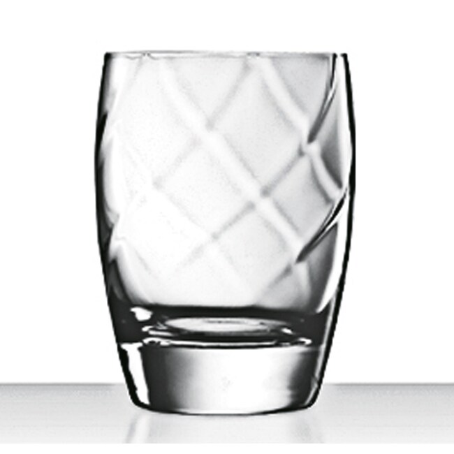 Luigi Bormioli Canaletto 12-oz Double Old Fashioned Glasses (Set of 4)