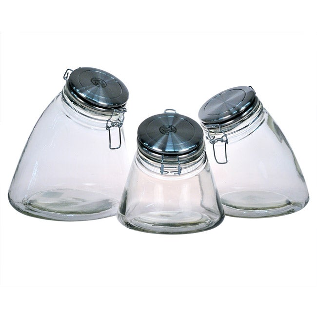 Amici Slope Storage Jars (Set of 3)