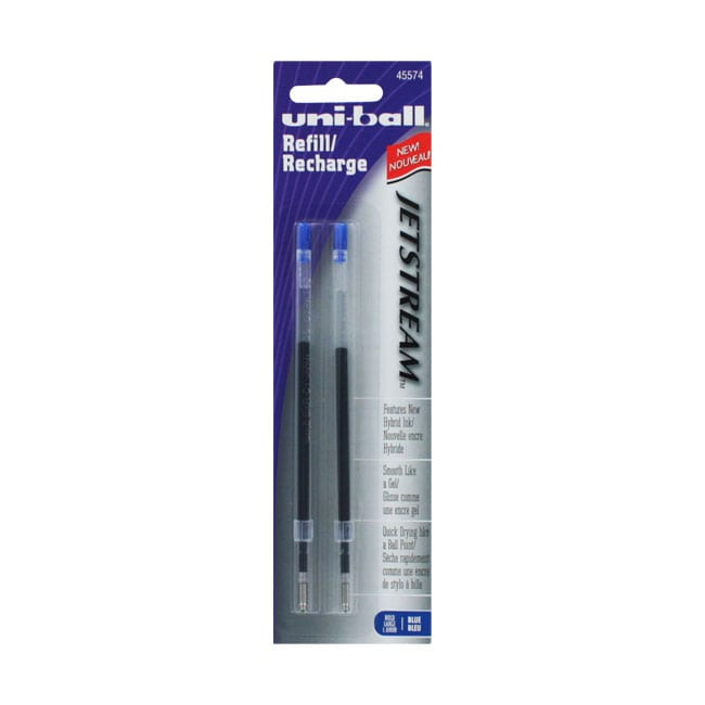 Uni-Ball Jetstream Bold 1.0mm Blue Refills (Pack of 12)