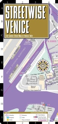 Streetwise Venice: City Center Street Map of Venice, Italy (Sheet map, folded)