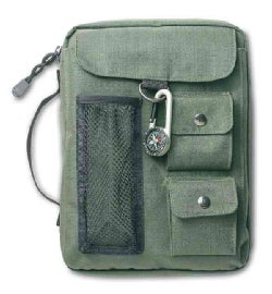 Compass Olive Green Medium Book & Bible Cover (General merchandise)