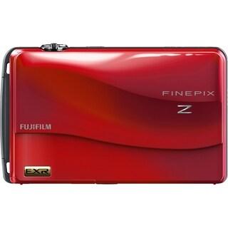 Fujifilm FinePix Z700EXR 12 Megapixel Compact Camera - Red