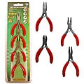Professional 4-piece Set of Micro Pliers
