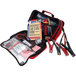 Lifeline First Aid AAA Certified 63-piece Traveler Emergency Road Kit