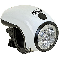 M-Wave 5 LED Biking Headlight