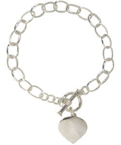Sterling Essentials Sterling Silver 7-inch Charm Bracelet Benefitting WWP