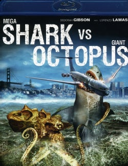 Mega Shark Vs. Giant Octopus (Blu-ray Disc)