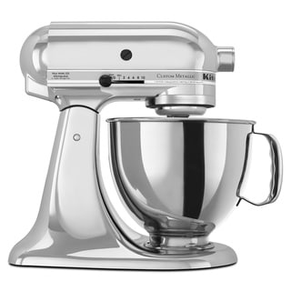 KitchenAid KSM152PSCR Chrome 5-quart Custom Metallic Tilt-Head Stand Mixer
