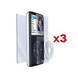LCD Screen Protectors for Apple iPod Classic (Pack of 3)