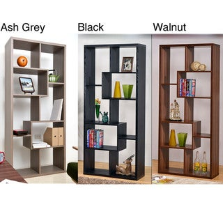 Furniture of America Wood Bookcase/ Display Cabinet