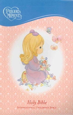Holy Bible: Precious Moments International Children's Bible Pink LeatherSoft (Paperback)