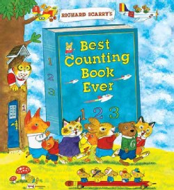 Richard Scarry's Best Counting Book Ever (Hardcover)