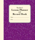 Teacher's Lesson Planner and Record Book (Spiral bound)