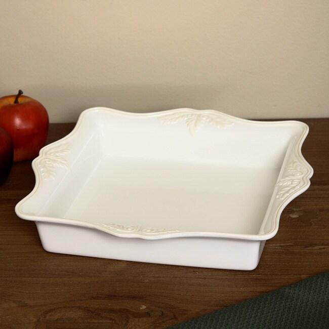 Lenox 'Bulter's Pantry' 8-inch Ceramic Baker