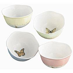 Lenox Butterfly Meadows Dessert Bowls (Set of 4)