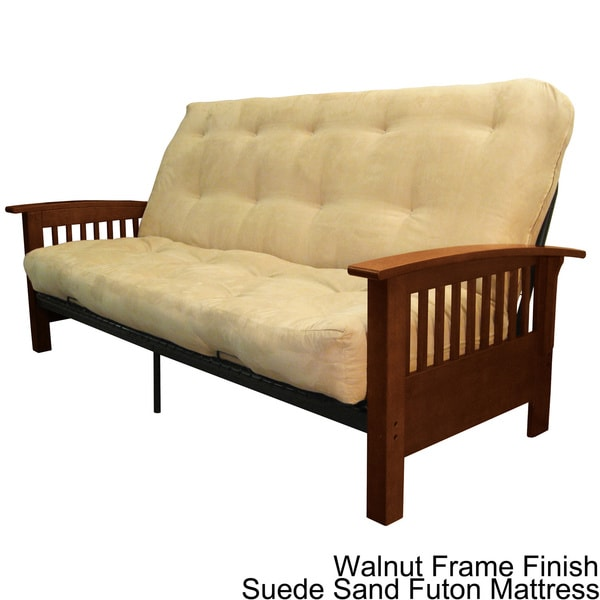 Brendan full size mission style frame with inner spring for Mission style futon assembly instructions