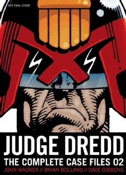 Judge Dredd 2: The Complete Case Files (Paperback)