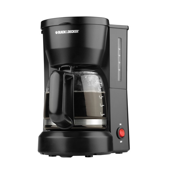 Black & Decker Black 5-cup Drip Coffeemaker