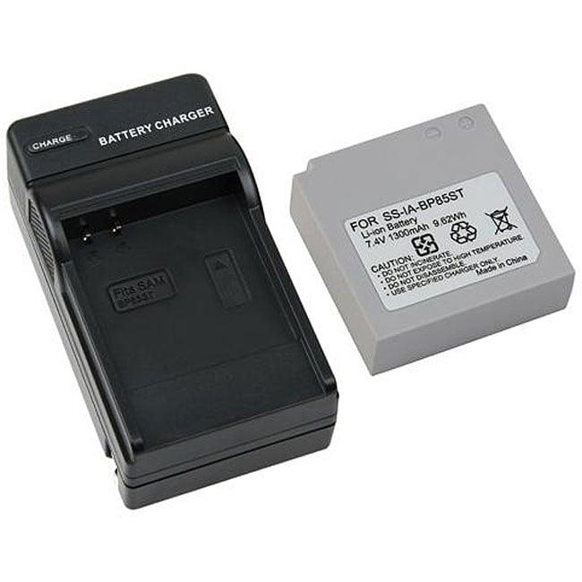 INSTEN Samsung IA-BP85ST Charger Set/ 2 Batteries