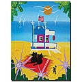Herbert Hofer 'The Beach' Gallery-wrapped Canvas Art