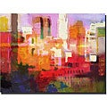 Adam Kadmos 'City Colors' Gallery-wrapped Canvas Art