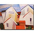 Adam Kadmos 'Coastal Village' Gallery-wrapped Canvas Art