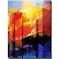 Adam Kadmos 'City Abstract' Canvas Art