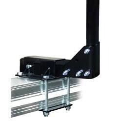 Swagman Two-inch Solid Steel Anti-rattle RV Bumper Bike Rack Adapter