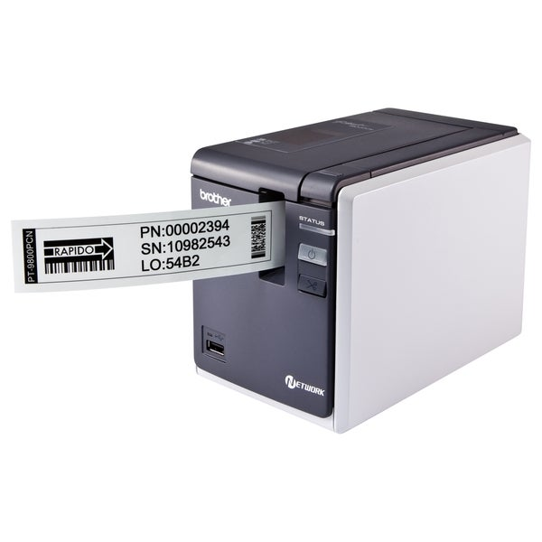 Brother P-touch PT-9800PCN Thermal Transfer Printer - Monochrome - De