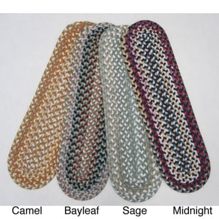 Set of 4 Reversible Watch Hill Braided Stair Treads (9 in. x 29 in.)