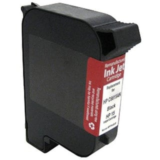 HP 15 2-pack Black Ink Cartridge (Remanufactured)