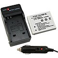 Canon NB-6L Compact Battery Charger and Compatible Li-ion Battery Set