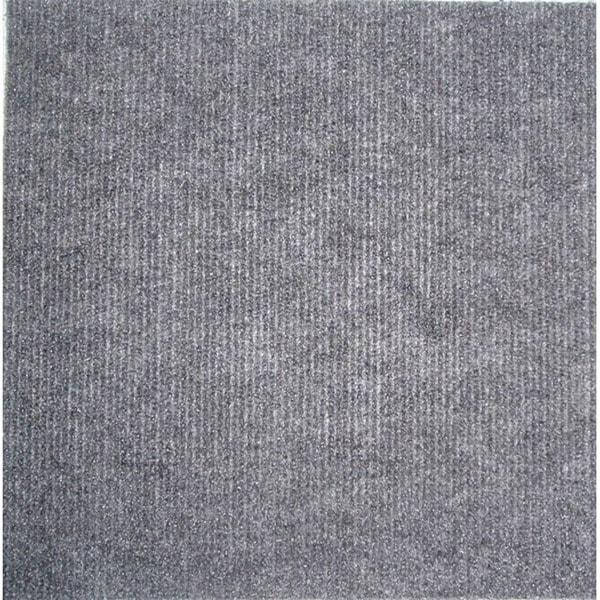 Square 12-inch Grey Carpet Tiles (240 SF)